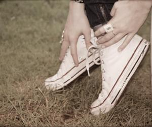 b, love, and converse image
