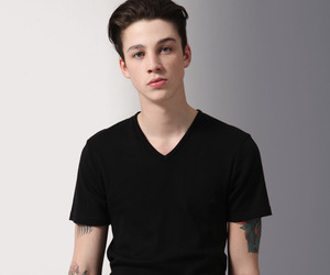 Ash Stymest and tattoo image