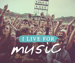 music and live image