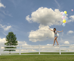 clouds, float, and happiness image