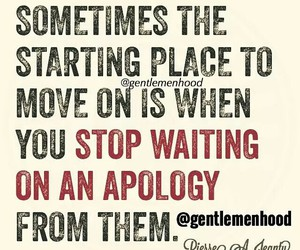 apology and move on image
