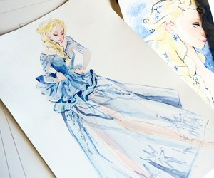 frozen, art, and drawing image