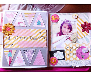 page, pastel, and scrapbook image