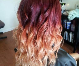 chic, colors, and hair image