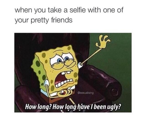 funny, spongebob, and ugly image