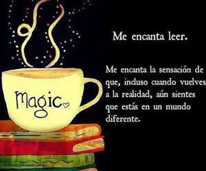 book, leer, and frases image