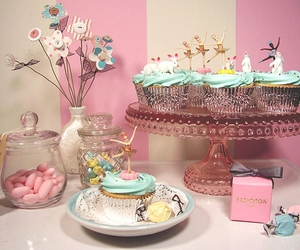 blue, cake, and candies image