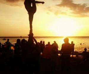 cheer, colombia, and pasion image