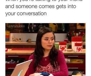 funny, friends, and icarly image