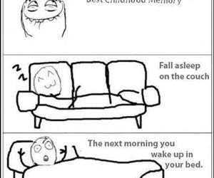 childhood, funny, and teleport image