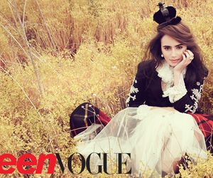 lily collins, lily, and Teen Vogue image