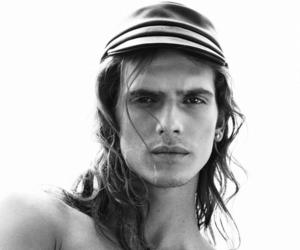 model, long haired man, and bruce machado image
