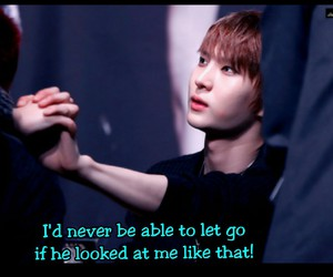 Leo, never let go, and stare image