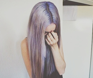 hairs, pale, and purple image
