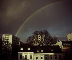 germany, home, and rainbow image