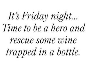 wine, friday, and hero image