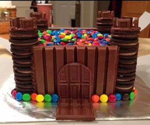 castle, chocolate, and diy image