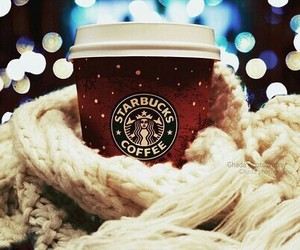 cold, starbucks, and frozen image
