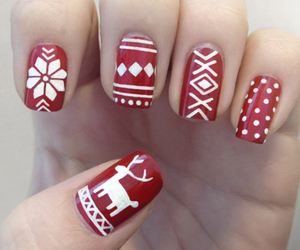 amazing, red, and nails image