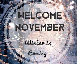 november and winter image