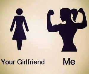 fitness, me, and girlfriend image