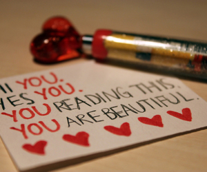 <3, hey you, and you're beautiful image