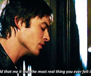 ian somerhalder, quote, and the vampire diaries image
