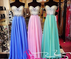 evening dress, prom dresses, and royal blue prom dress image