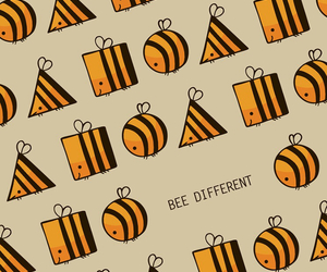be, diffrent, and bee image