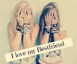 love, friends, and best friends image