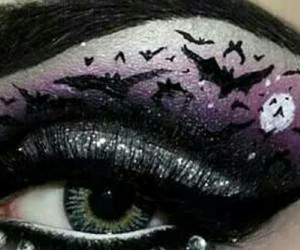 at, bats, and body art image