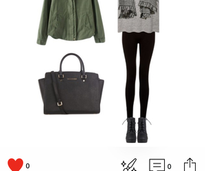 autum, bag, and cool image