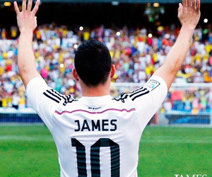 james rodriguez, real madrid, and 10 image