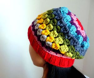 colorfull, crochet, and handmade image
