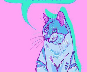 awesome, cat, and grunge image
