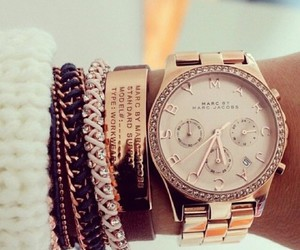 beautiful, gold, and bracelets image
