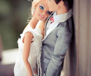 barbie, ken, and wedding image