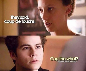 teen wolf, funny, and meredith image