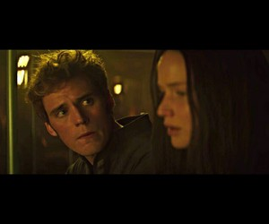 katniss, mockingjay, and finnick image