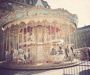 hipster and carousel image