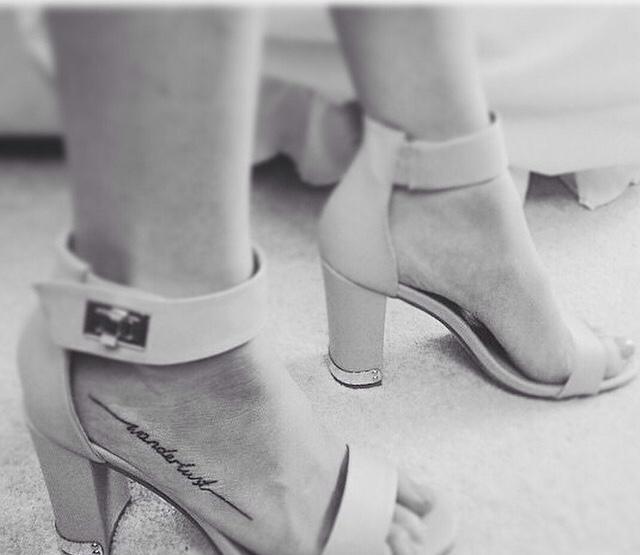 black, feet, and heels image