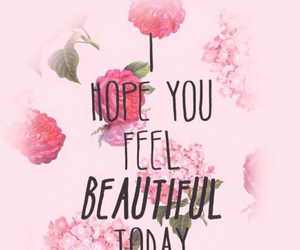 beautiful, quote, and flowers image