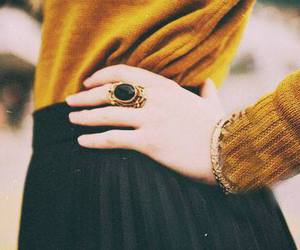 fashion, ring, and style image