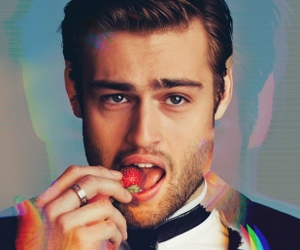 douglas booth, Hot, and strawberry image
