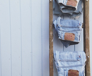 jeans, fashion, and hipster image