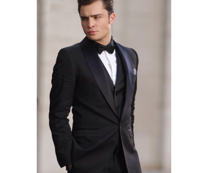 chuck bass, ed westwick, and classy image