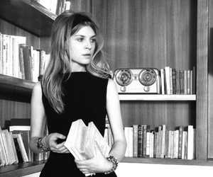 b&w, black and white, and clemence poesy image