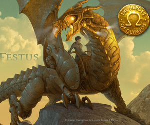 book, percy jackson, and festus image