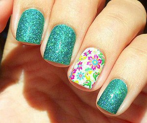 amazing, manicure, and colors image