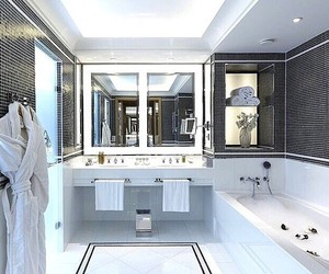 bath, luxury, and clean image